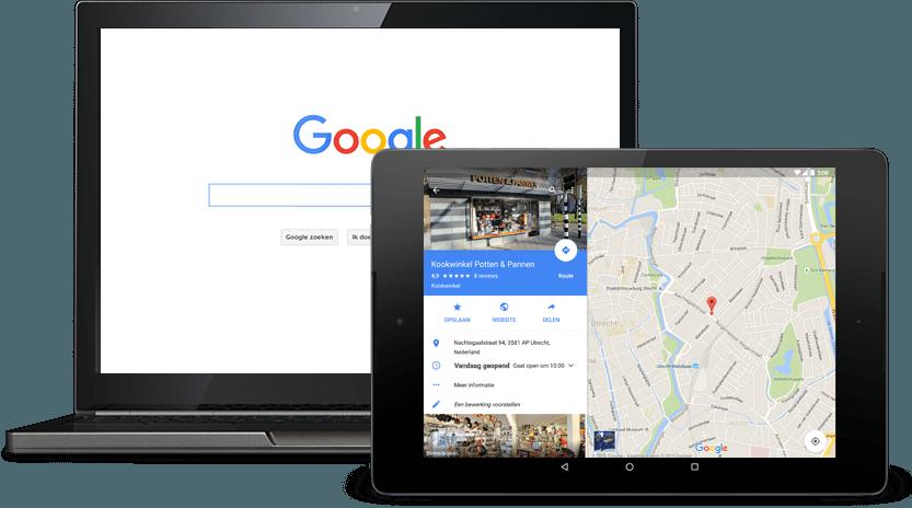 Google Mijn Bedrijf | Onzid webdesign