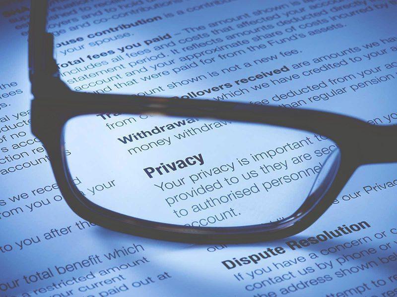 Is een privacyverklaring verplicht | Onzid webdesign